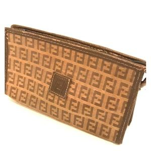 Fendi vintage cosmetic bag or small carry bag